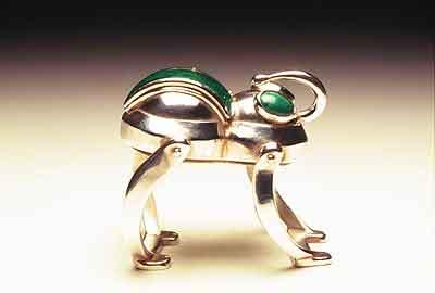 Green Froggy (ring/box) 1996