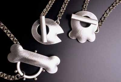 Doggybone, Babe, Paw (pendants)