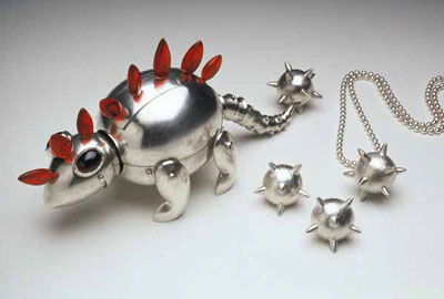 Hedgerex (box jewellery set, box, rings, pendant)