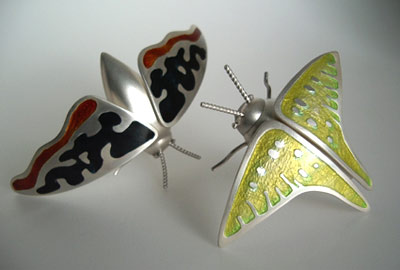 Big Moth (brooch)