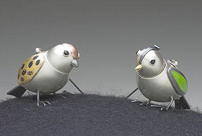 Bird Pins