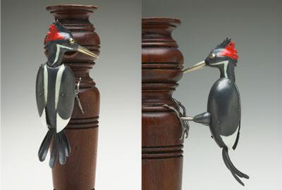 Ivory Billed Woodpecker (sculpture)