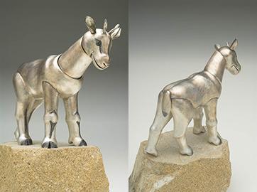 Kid Markhor (sculpture)