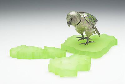 Kakapo Island (sculpture)