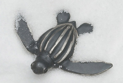 Leatherback Turtle Hatchlings (pins, brooch, pendants)