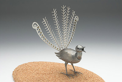 Lyre Bird (sculpture)