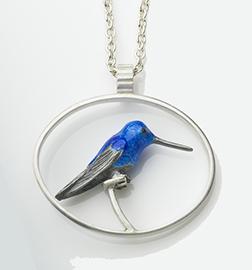 Blue Hummie (pendant)