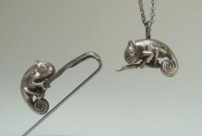 Chameleon (pin/pendant)