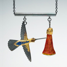Stealing Nectar (necklace)