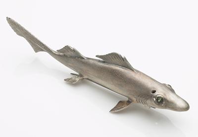 Dumb Gulper Shark brooch