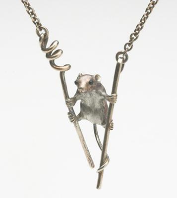 Harvest Mouse pendant