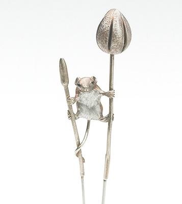 Harvest Mouse pin