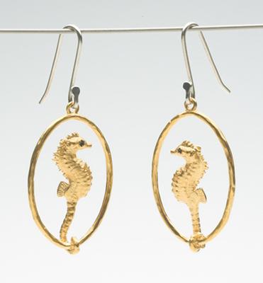Pygmy Seahorse earrings