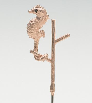 Pygmy Seahorse pin