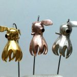 Finned Octopus - pins