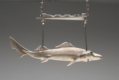 Dumb Gulper Shark necklace