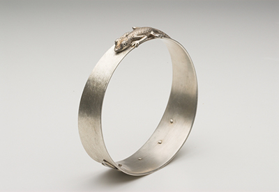Gecko and Shadow bangle